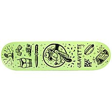 Дека для скейтборда Creature Gravette Tanked Pro Black/Green 31.9 x 8.2 (20.8 см)
