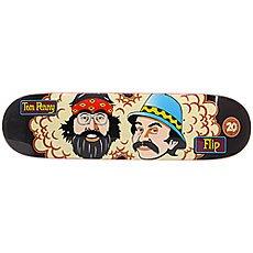 Дека для скейтборда Flip Penny Toms Friends 20th Anniversary Pro Black 32 x 8.13 (20.7 см)