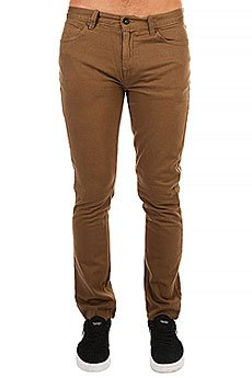 Джинсы узкие Billabong Slim Outsider Color Camel