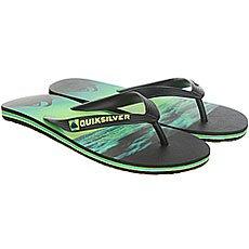 Вьетнамки Quiksilver Molokaiholddown Real Black/Green