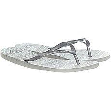 Вьетнамки женские Roxy Bermuda Real Grey/White