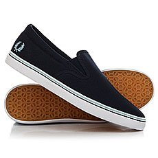 Слипоны Fred Perry Underspin Slip On Canvas Navy