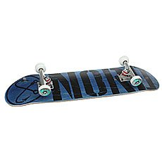Скейтборд в сборе Nord Лого Black Blue/Black/Silver 32.75 x 8 (20.3 см)