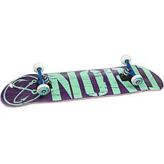 Скейтборд в сборе Nord Лого Purple/Mint 32 x 8 (20.3 см)
