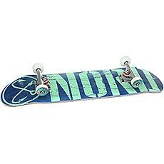 Скейтборд в сборе Nord Лого Blue/Mint 31.75 x 8 (20.3 см)