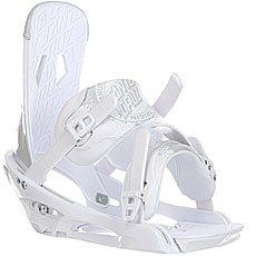 Крепления для сноуборда Santa Cruz Sigma Emy White/Cool Gray