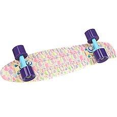 Скейт мини круизер Пластборды Desert 1 Beige/Multi 6 x 22.5 (57.2 см)