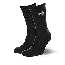 Носки средние Carhartt WIP Diamond Socks Black/White