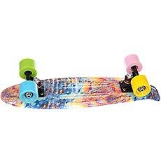 Скейт мини круизер Turbo-Fb Abstraction Multi 6 x 22 (56 см)