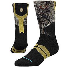 Носки высокие Stance Basketball Performance Fireworks Black
