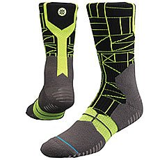 Носки высокие Stance Basketball Performance Hiero Lime