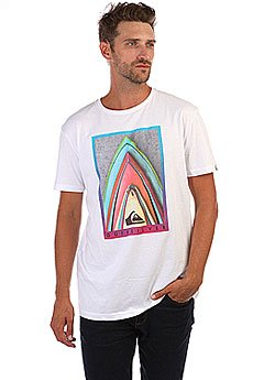 Футболка Quiksilver Sspretestacked White