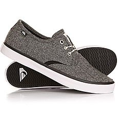 Кеды низкие Quiksilver Shorebreak Delu Grey/Black/White