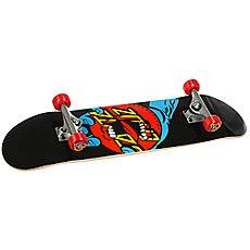 Скейтборд в сборе Santa Cruz Hand Dot Sk8 Complete Black/Blue/Red 31.6 x 8 (20.3 см)