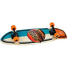 Скейт мини круизер Santa Cruz Homebreak Street Shark Cruzer Multi 8.8 x 30.97 (76.2 см)