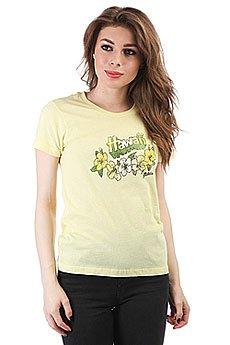 Футболка женская Dakine Floral Hawaii Yellow