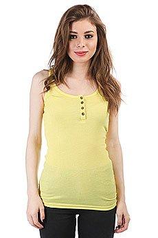 Майка женская Dakine Kela Rib Henley Tank Sunshine Yellow
