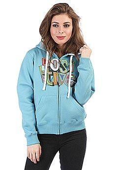 Толстовка кенгуру женская dakine Girls Positive Hoodie Icebeg Blue