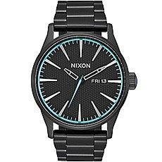 Кварцевые часы Nixon Sentry Black/Blue