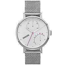 Кварцевые часы женские Nixon Clutch Silver