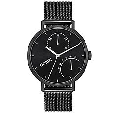 Кварцевые часы женские Nixon Clutch Black/White