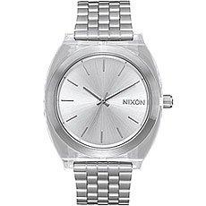 Кварцевые часы женские Nixon Time Teller Acetate Silver/Clear
