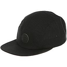 Бейсболка пятипанелька DC Cramper Camper Hats Black