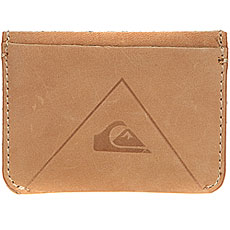 Визитница Quiksilver Leathercardhold Bone Brown