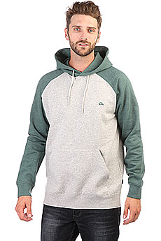 Толстовка кенгуру Quiksilver Everyday Hood Grey Heather