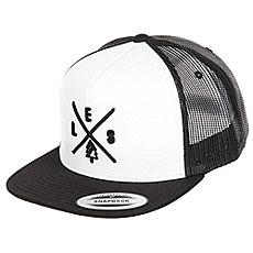 Бейсболка с сеткой Les Trucker Black/White/Black