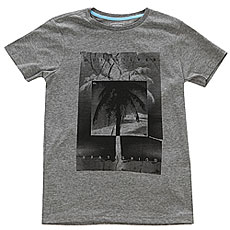Футболка детская Quiksilver Ssheathteeytinv Medium Grey Heather
