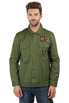 Рубашка DC Jedburgh 2 Vintage Green