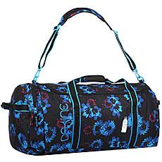 Сумка дорожная женская Dakine Womens Eq Bag 74l Blue Flowers
