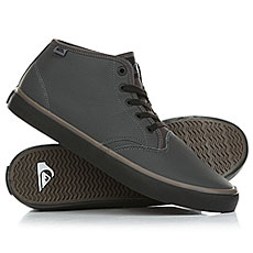 Кеды высокие Quiksilver Shorebreakpmmid Grey/Black