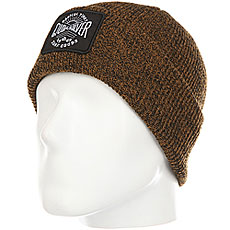 Шапка Quiksilver Performedpatch Bone Brown
