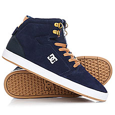 Кеды высокие DC Crisis High Navy/Camel