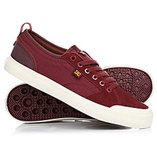 Кеды низкие DC Evan Smith Burgundy