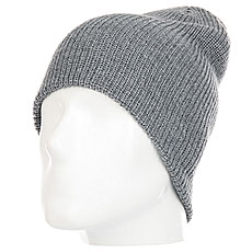 Шапка DC Silas Beanie Hats Grey Heather