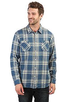 Рубашка в клетку Quiksilver Moon Tides Estate Blue