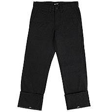 Штаны прямые Quiksilver Ghettosurfpant Black
