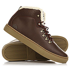 Кеды зимние Quiksilver Jax Brown