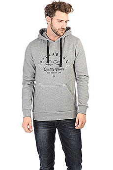 Толстовка кенгуру Billabong Patrol Hoodie Grey Heather