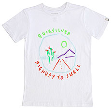 Футболка детская Quiksilver Highwaytoswetyt White