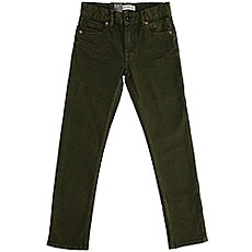 Джинсы узкие детские Quiksilver Distorscolorsyt Pant Rifle Green
