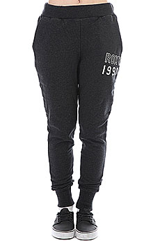 Штаны спортивные женские Roxy Sticked With Me Black Heather