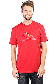 Футболка Quiksilver Ssclatejungmoun Chili Pepper