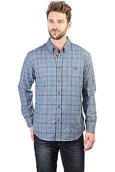Рубашка в клетку Quiksilver Cortezstraight Estate Blue Cortez