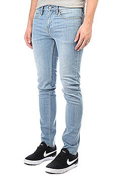 Джинсы узкие DC Worker Slim Jea Light Indigo Bleach