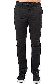 Штаны прямые Quiksilver Surfpant Black