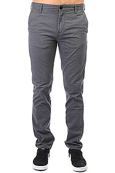 Штаны прямые Quiksilver Everyday Chino Iron Gate